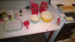 The BHE set it up JUST LIKE THIS for me to create some of the best brownies EVER.