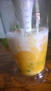 ...even the mango peel.