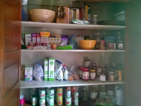 The Pantry Shelves